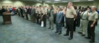 Corrections Officers Take First Oath of Office