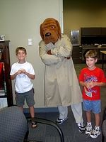 McGruff Vists During the Sheriff Office Grand Opening