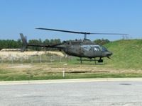 A Helicopter from the Alabama Counterdrug Security and Support Detachment