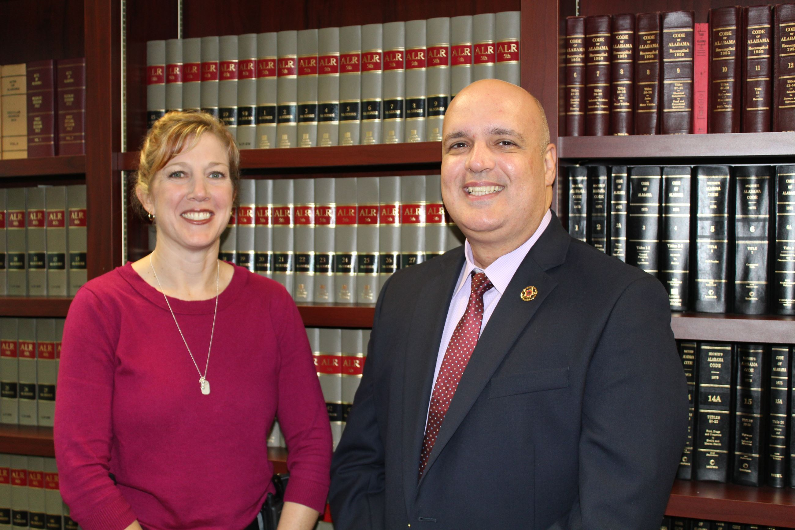 Investigators Heather Parramore and Roberto Rodriguez